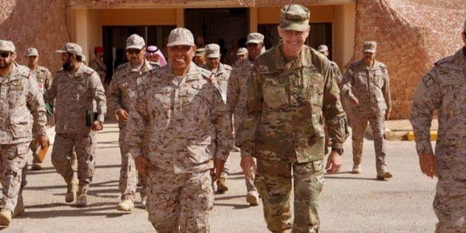 اختتام تدريبات القائد المتحمس العسكرية المشتركة بين القوات السعودية والأمريكية بمدينة الملك خالد
